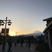 夕陽と富士山が本当に美しい!御殿場