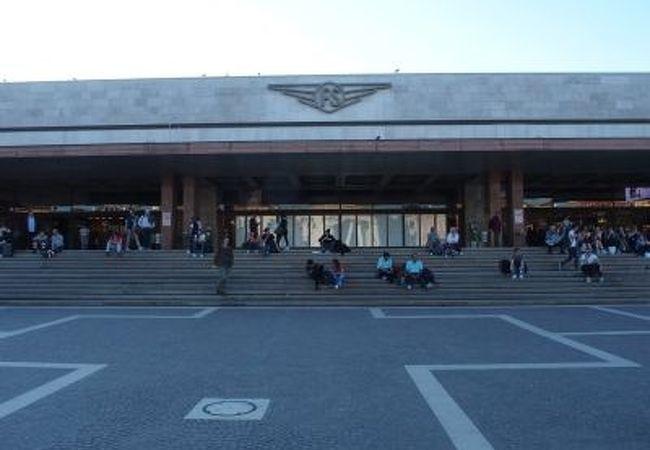 ベネチアの島にあるターミナル