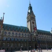 2018年5月 Hamburg ハンブルク Rathaus 市庁舎♪