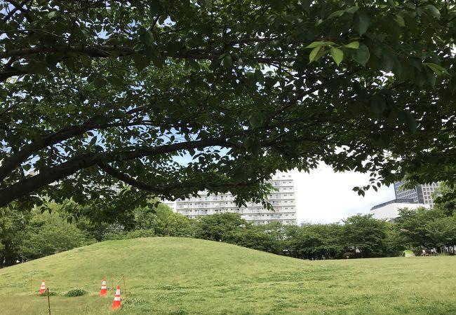 交通公園に隣接の公園