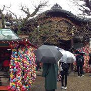カラフルな神社