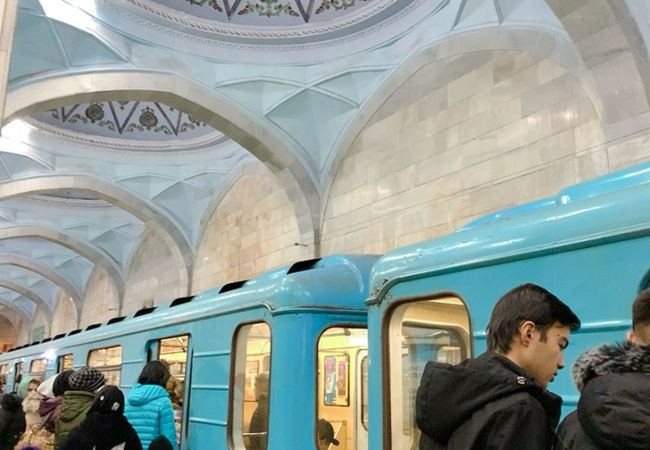 駅構内の装飾が美しい! 現在は撮影も解禁されてます