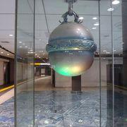 東京駅の代表的な待ち合わせスポット (銀の鈴)