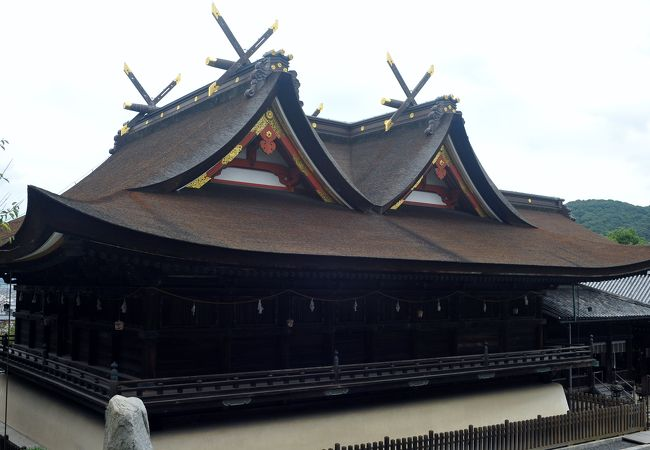 本殿 拝殿 (吉備津神社)