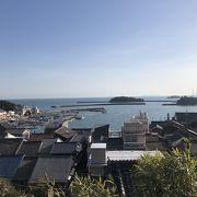 瀬戸内海を見渡せる昔懐かしい街