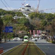 復旧工事中の熊本城