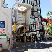 あすと アーケード商店街を通って JR蒲田駅と京急線蒲田駅を行き来