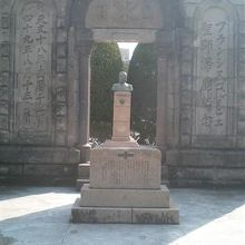 ザビエル滞鹿記念碑