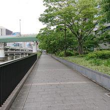 中之島遊歩道
