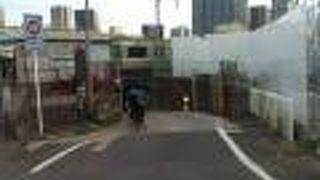 高輪橋架道橋