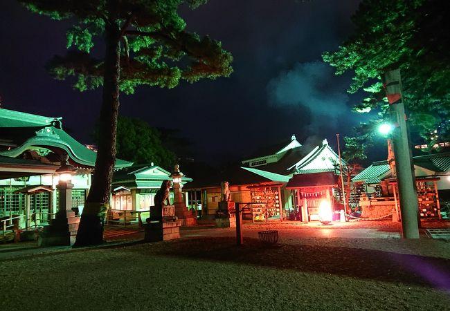 康生町にある神社
