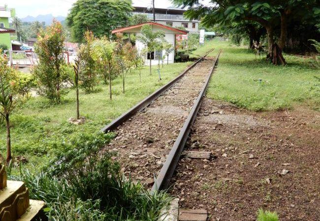 泰緬鉄道の線路
