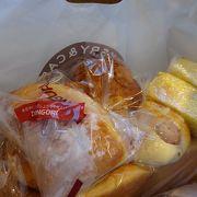 パンを購入!ついでにチーズケーキをイートイン!