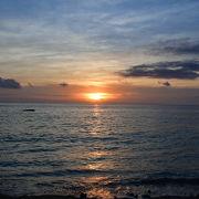 夕陽を見れるベストスポット!