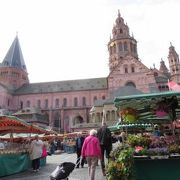 2018年5月 Mainz マインツ Marktplatz マルクト広場