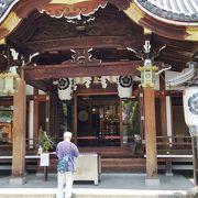 緑に囲まれた神社でした