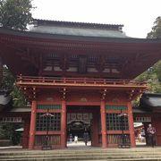 1700年に江戸5代将軍・徳川綱吉公が造営したといわれます