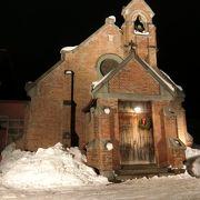 レンガ造りの教会