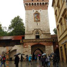 フロリアンスカ門 (聖フロリアン門)