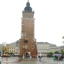 旧市庁舎の塔