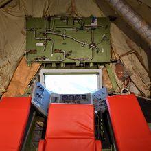 B747のプロトタイプに、空中給油用コクピットらしき部屋が。