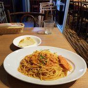 渡り蟹のスパゲティーランチ