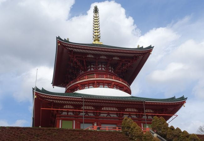 成田山新勝寺平和大塔