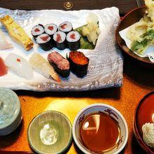 寿司ランチ 初花