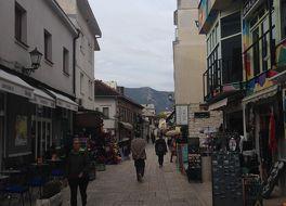 モスタル旧市街の古橋地区