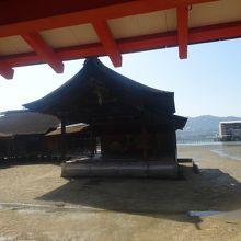 嚴島神社 能舞台