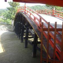 嚴島神社 反橋