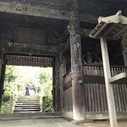 杉本寺の山門