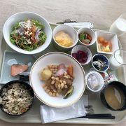 ホテルJALシティ長野の朝ごはん