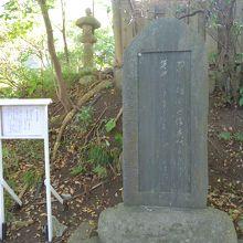 児玉神社 石黒忠悳の歌碑