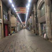 瓦町への商店街