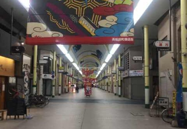 高松のアーケード商店街