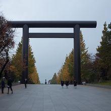 靖国神社 第一鳥居(大鳥居)