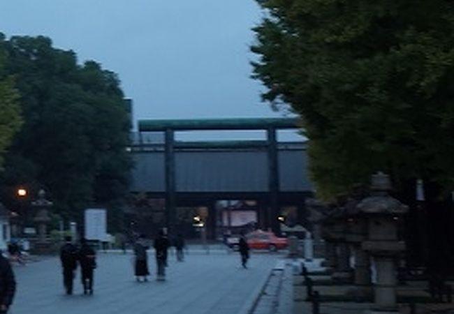 靖国神社 第二鳥居