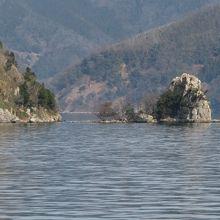 竹生島が見えてきました