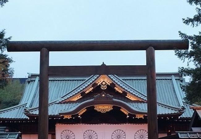 靖国神社 中門鳥居