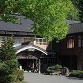 蔦温泉旅館 足元から湧き出てくる温泉