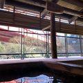 吉野川沿いのゆったりした温泉宿