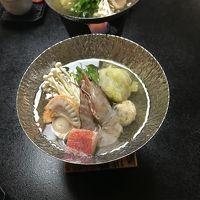 優しい出汁が最高の海鮮鍋