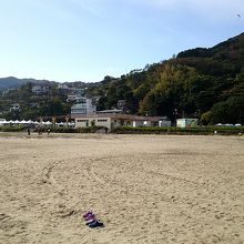 広くてきれいなビーチです