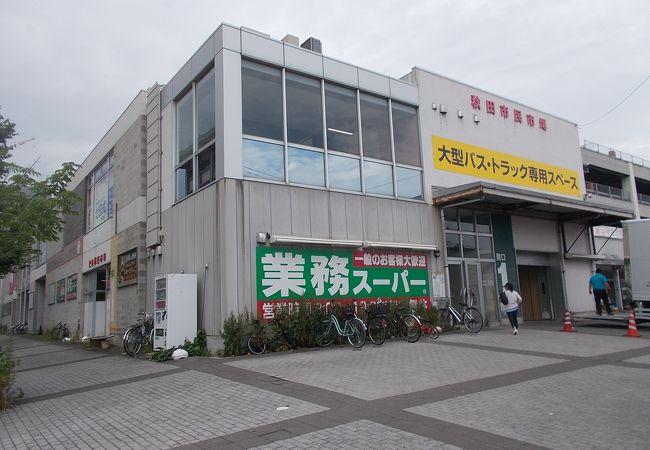 秋田駅から西南のエリアにあります。