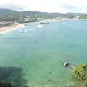 晴れた日の海の色!