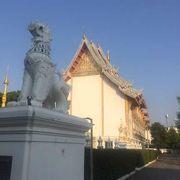 チェンマイの町外れのお寺