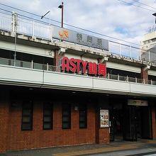 小さめなJR鶴舞駅に併設のエキナカです。
