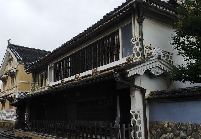 木蝋製造で財を成した豪商の住宅は半端なく豪華