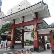 増上寺の総門として使用されていました
